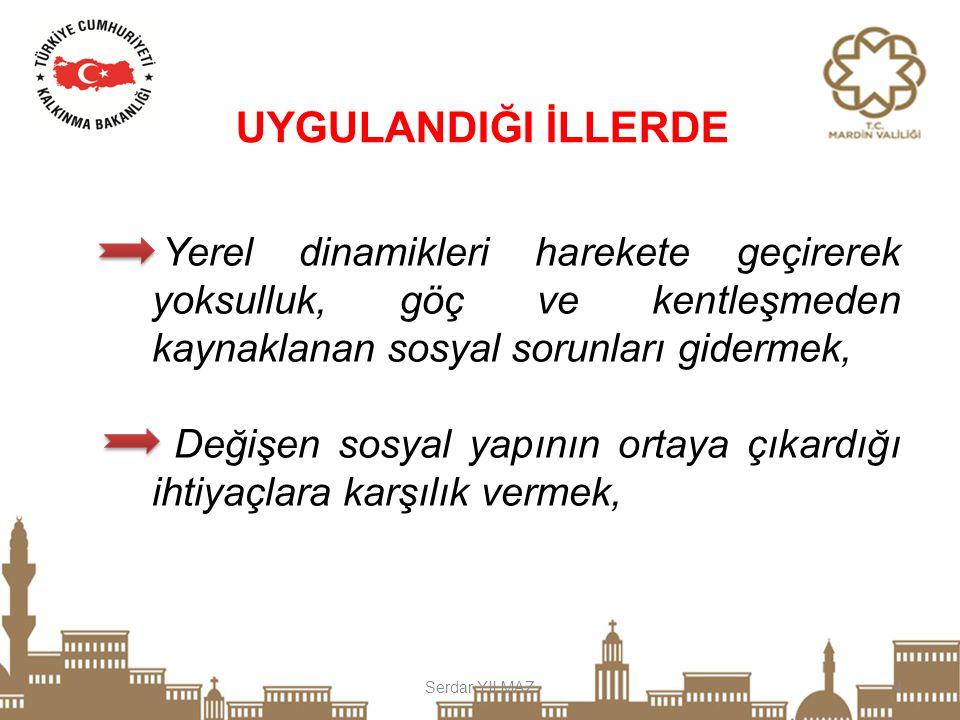 Serdar YILMAZ15 c)Kültür, Sanat ve Spor projeleri