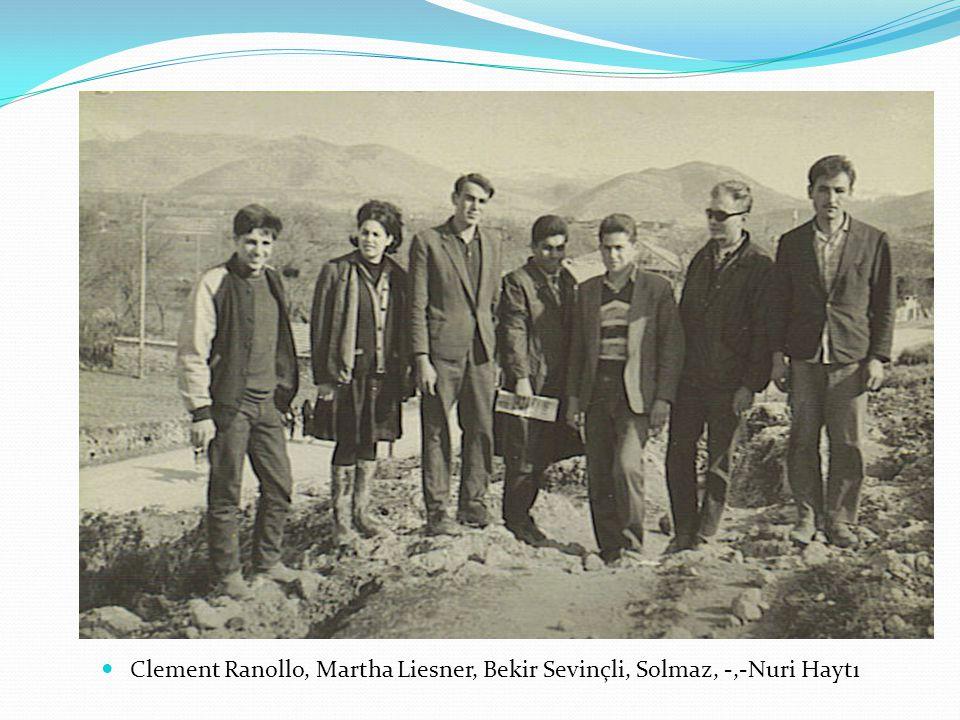 Clement Ranollo, Martha Liesner, Bekir Sevinçli, Solmaz, -,-Nuri Haytı