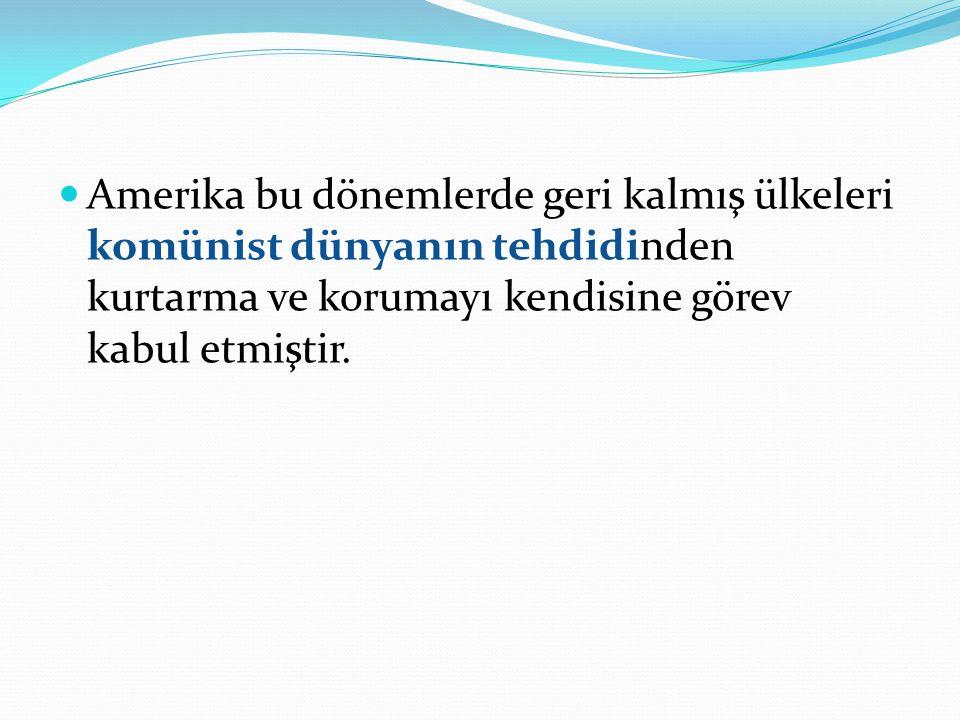 Uluslararası Kalkınma Kurumu (AID)'in Türkiye'ye yerleşmesiyle, Amerika'da oluşturulan projelerden birisinin önemli ayağı olan yabancı dil öğretimi konusunda harekete geçildiği görülmektedir.