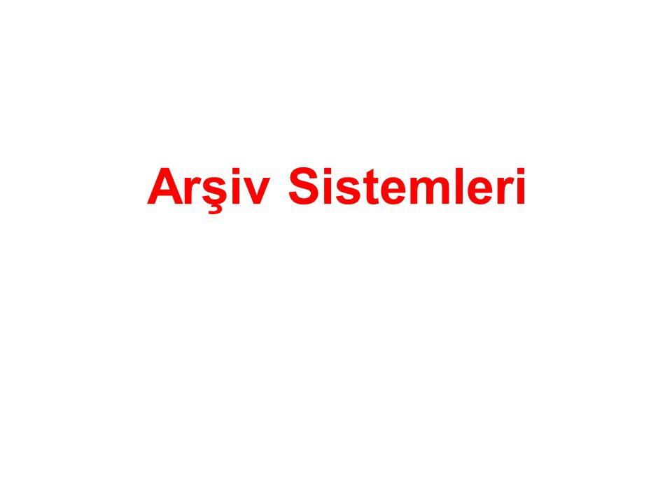 Arşiv Sistemleri