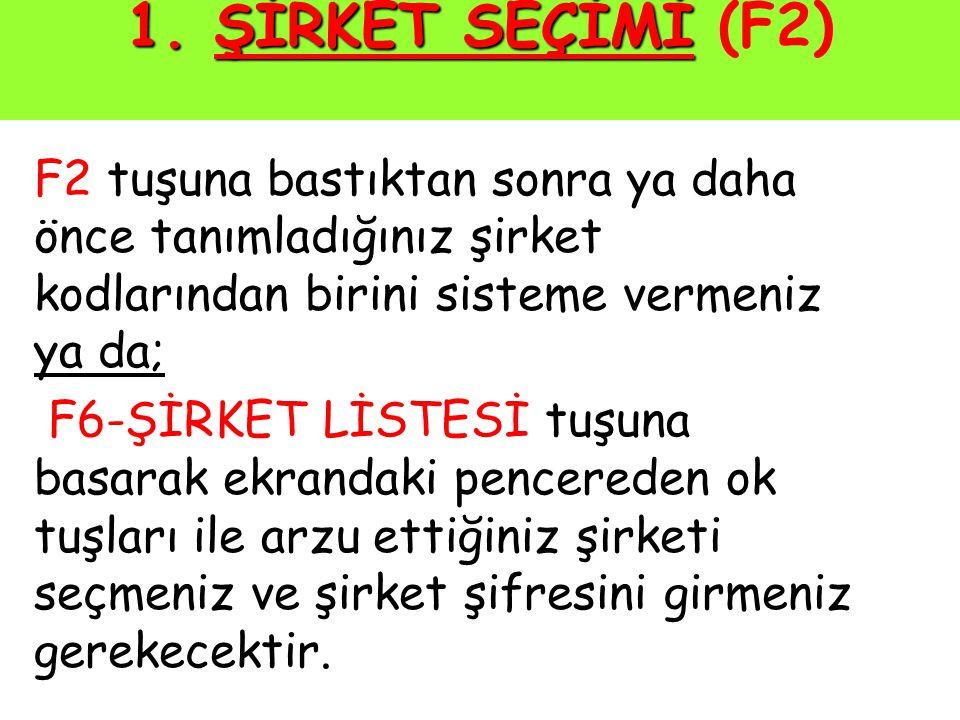 Bu aşama da geçildikten sonra Bu Şirkette Çalışmak İstediğiniz Türk Lirası Şeklini Belirtiniz! şeklinde seçim ekranı gelir.