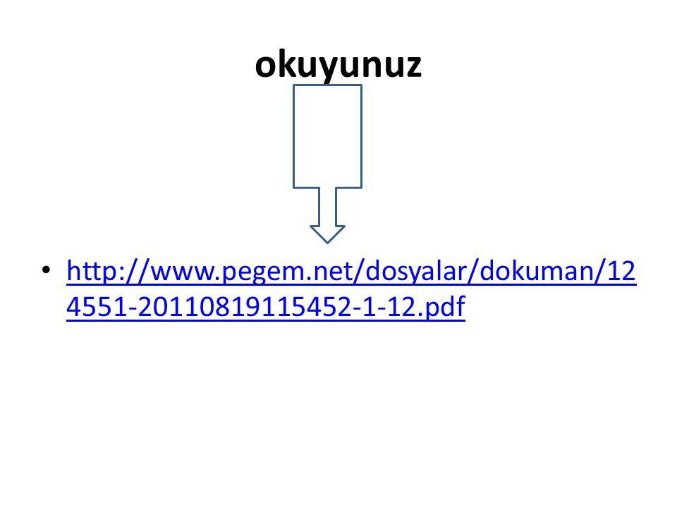 okuyunuz http://www.pegem.net/dosyalar/dokuman/12 4551-20110819115452-1-12.pdf http://www.pegem.net/dosyalar/dokuman/12 4551-20110819115452-1-12.pdf