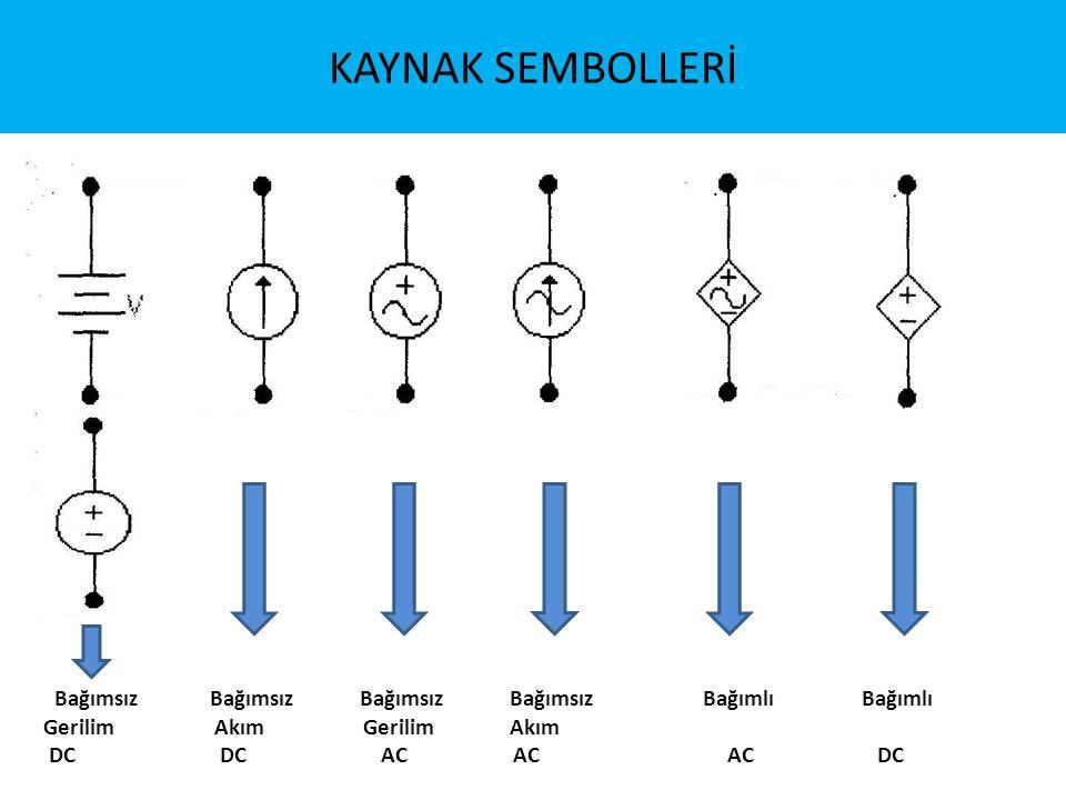 Elektrik Devrelerinde Düğüm (node) İki farklı elemana ait bacakların bağlandığı yerlere düğüm adı verilir.