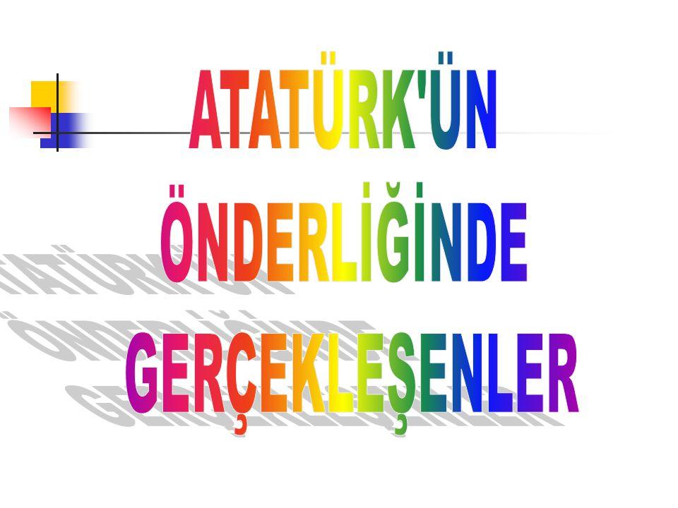 Türkiye Büyük Millet Meclisi açıldı.Türkiye Büyük Millet Meclisi, 23 nisan 1920 yılında açıldı.
