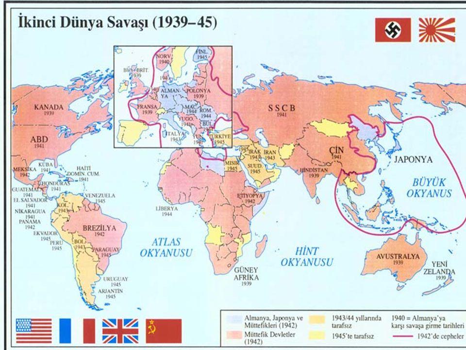 3.İtalya Birinci Dünya Savaşı'ndan galip çıkmasına rağmen amaçlarına ulaşamadı.