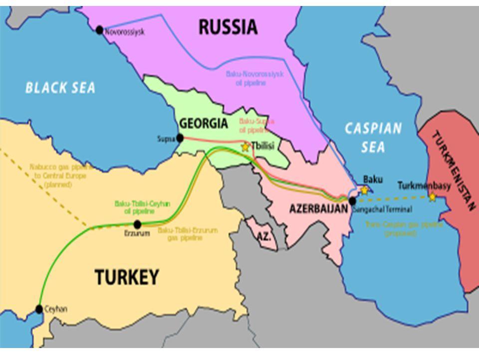 Baku – Tiflis – Erzurum Doğalgaz Hattı Projesi Azerbaycan petrolünün yanında doğalgazının da Türkiye vasıtasıyla Avrupa'ya taşınması için Baku -Tiflis – Erzurum Doğalgaz Hattı Projesi tamamlanmış ve 2006 yılının sonunda Bakü'den Erzurum'a doğalgaz pompalanmaya başlanmıştır.