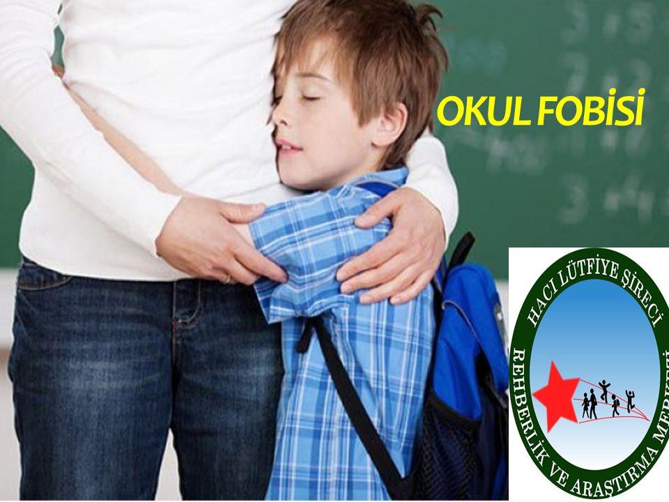 okul fobisi; okul çağına gelmiş çocuğun, okula gitmek istememesi ve dolaylı davranışlarla direnç göstermesidir.