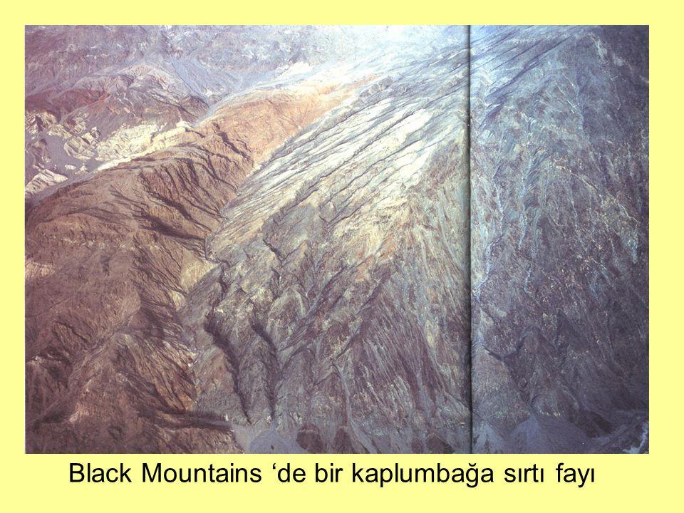 Black Mountains 'de bir kaplumbağa sırtı fayı
