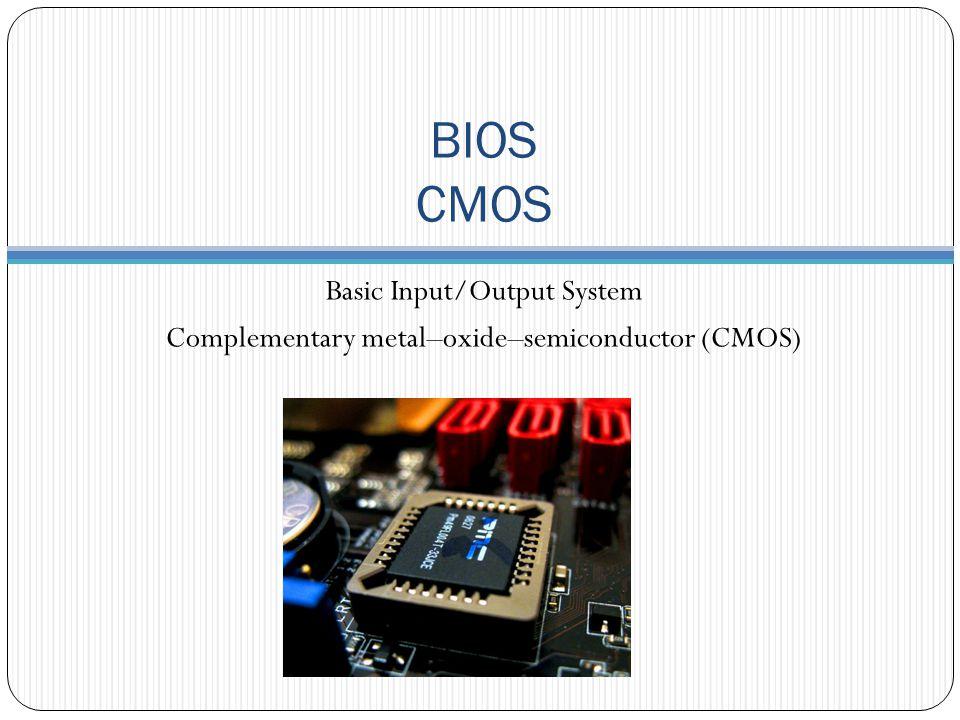 Bu bölümde a ş a ğ ıdakileri ö ğ reneceksiniz BIOS ve CMOS kavramları CMOS kurulum yazılımı ve sık kullanılan özellikleri Opsiyon ROM ve sürücü yazılımları POST ve BOOT i ş lemleri Güncelleme ve sorun giderme teknikleri Genel Bakış