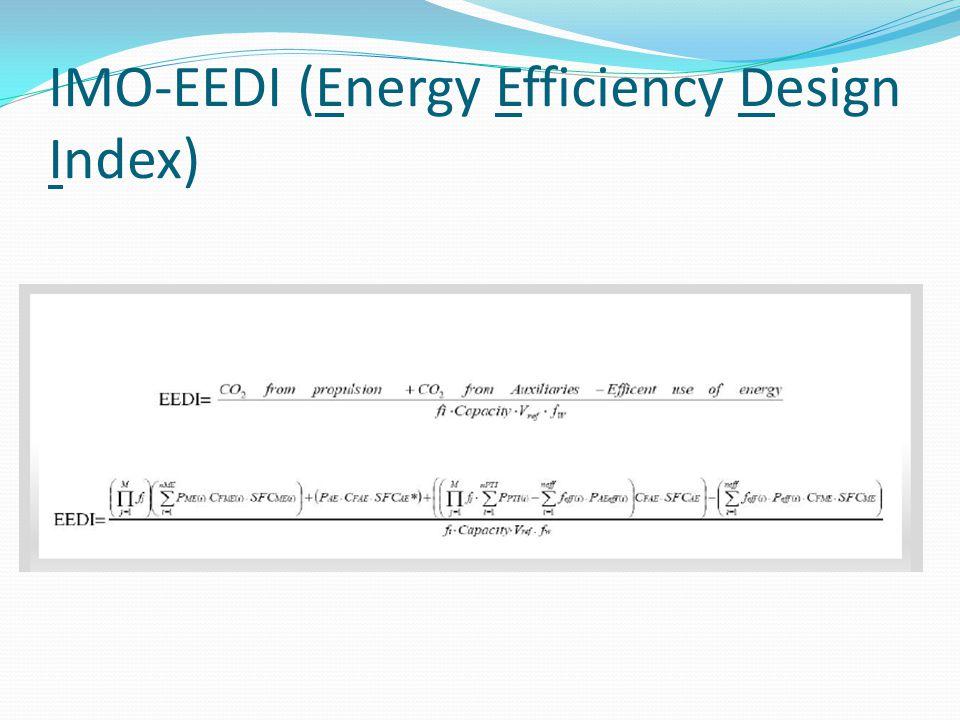 IMO-EEDI (Energy Efficiency Design Index)