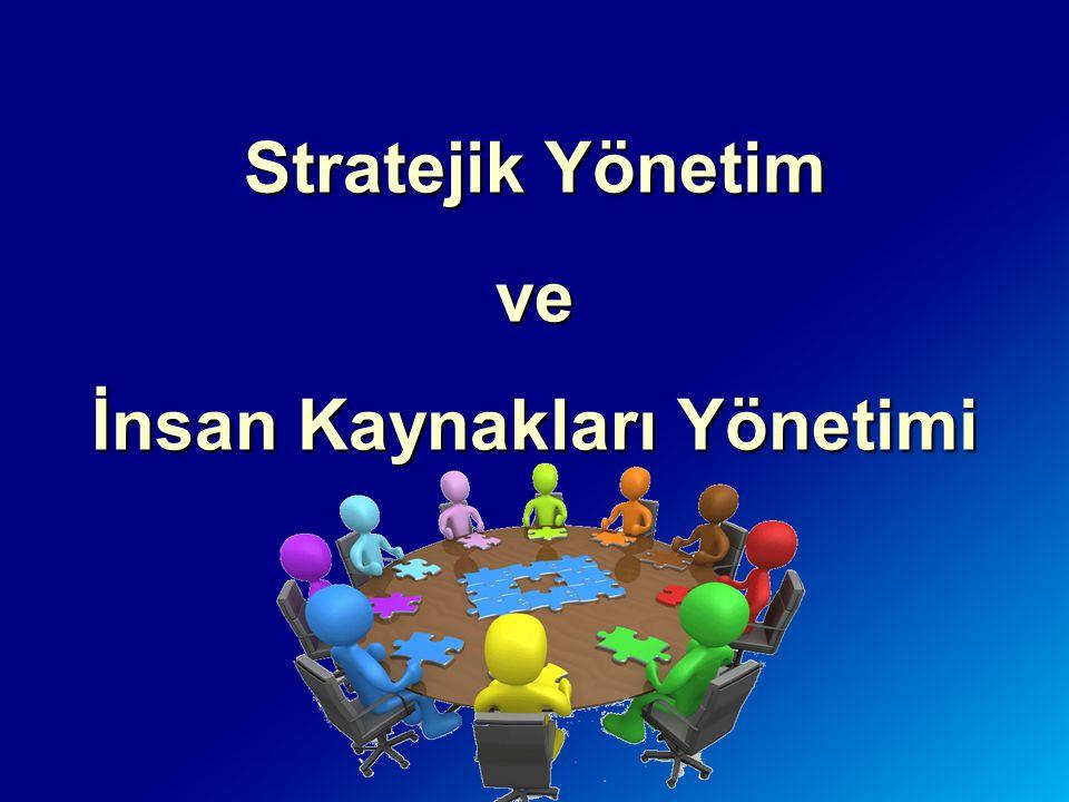 Stratejik Yönetim ve İnsan Kaynakları Yönetimi