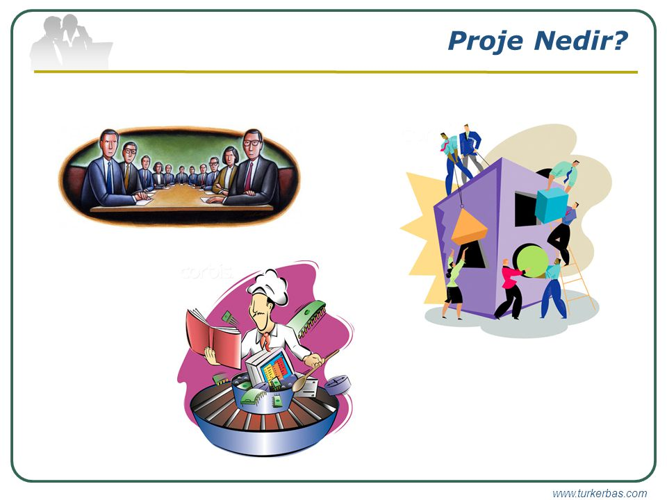 www.turkerbas.com Proje Ekibi Siz Seçerseniz Beceriler / Uzmanlık Takım Çalışması Geçici Personel Oluşum Şekli Hazırsa… Uygun Görevlendirme Eğitim (Bütçe)