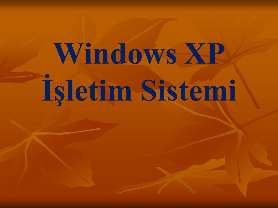 Windows XP İşletim Sistemi