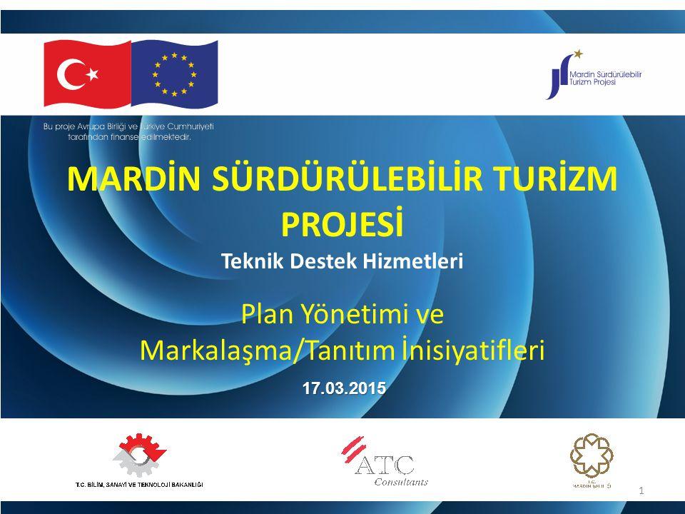Proje belgesinde, sürdürülebilirlik için 2 kamu- özel sektör inisiyatifinin tasarlanması beklenmektedir: 1) Mardin markasının ve tanıtımının ortak sahipliliğini sağlamak için 2) Mardin turizm deneyimini destekleyecek tanıtım ürünlerinin tasarım ve üretimi için PROJE İŞ TANIMI: 2 İNİSİYATİF