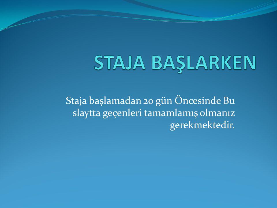 Yüksekokulumuz internet Sayfası http://www.balikesir.edu.tr/edremit http://www.balikesir.edu.tr/edremit adresinden indirdiğin zorunlu staj bilgi formunu doldur 3 Adet çıktı al Fotoğrafını yapıştır.