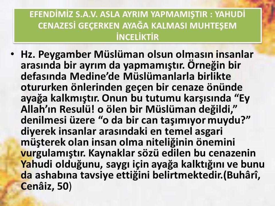EFENDİMİZ S.A.V.