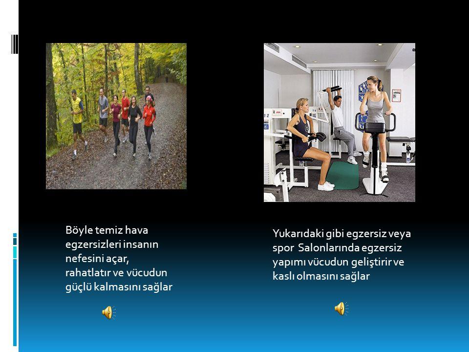egzersiz yapmanın faydaları  Ezersiz yapmanın faydaları:  İlk olarak vücudun herhangi salık problemi olmaz, hastalanma olasılığın düşer ve pek hasta