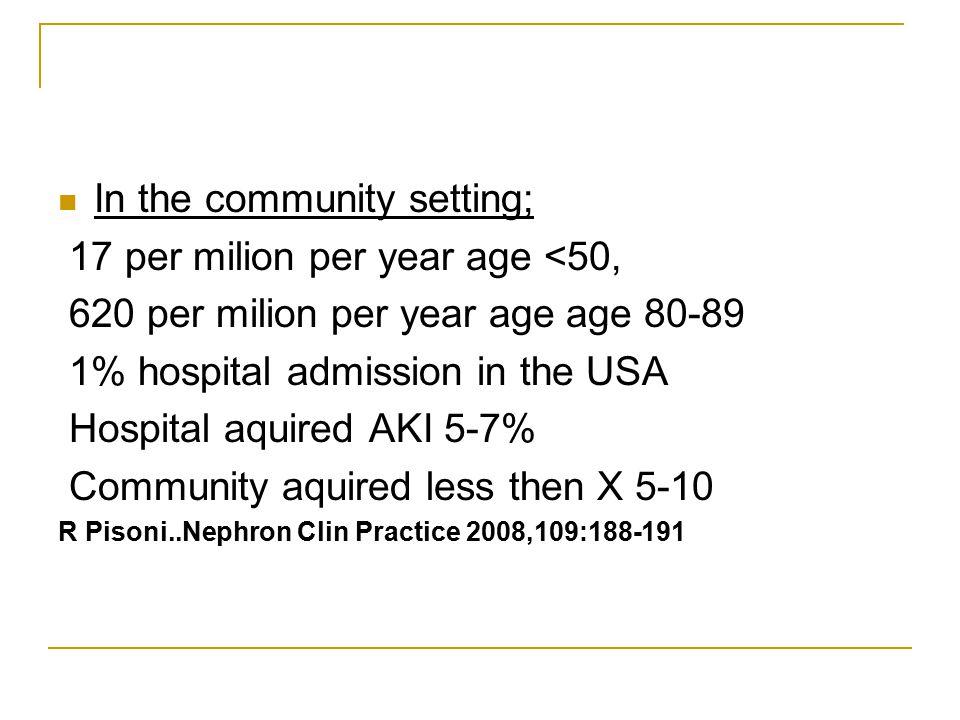 Gent YBÜ'de 2001 yılında ABY ve sepsisden ölüm oranları Yüzde oranı Yegenaga et al Am J Kidney Dis 2004, 43:817-824.