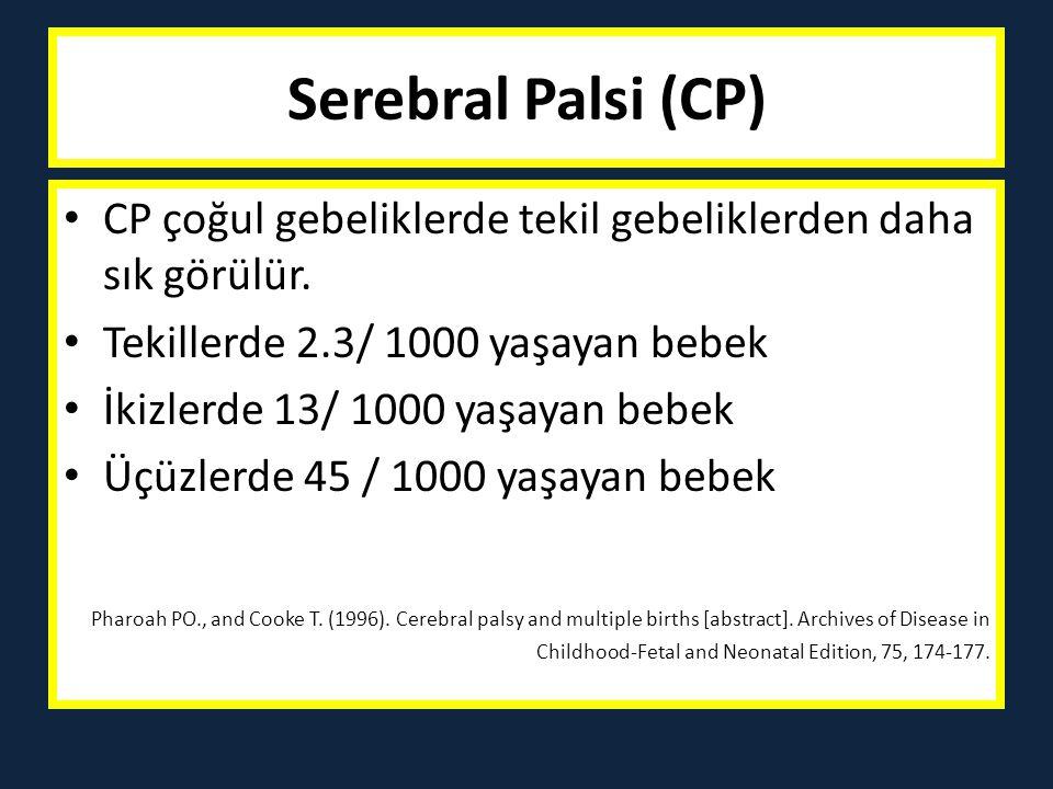 Cerebral Palsy-Etiyoloji Hermansen MC.