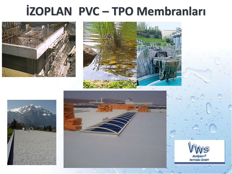 İZOPLAN PVC – TPO Membranları