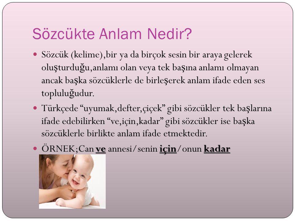 6. SINIF TÜRKÇE DERS İ SÖZCÜKTE ANLAM www.soruoku.com