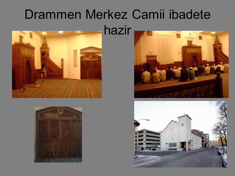 Drammen Merkez Camii ibadete hazir