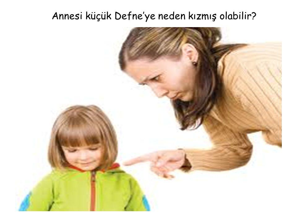 15.04.2015www.egitimcininadresi.com2 Annesi küçük Defne'ye neden kızmış olabilir?