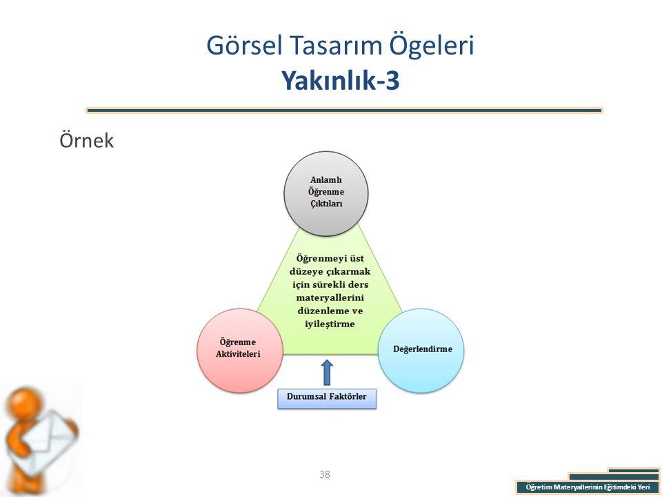 Öğretim Materyallerinin Eğitimdeki Yeri Görsel Tasarım Ögeleri Yakınlık-3 Örnek 38