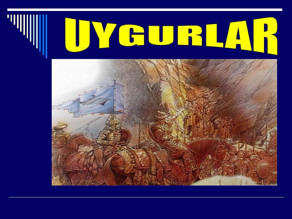 -Uygurlar savaş gücünden yoksun kalıp kendi öz benliklerini yitirdiler.