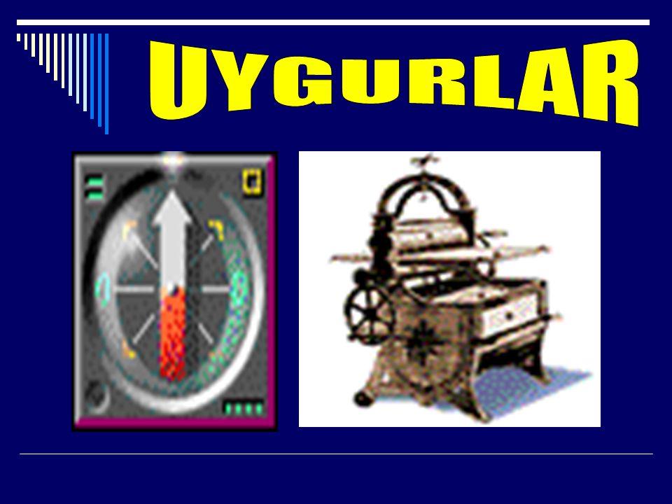-Uygurlar 18 harfli (3,ü sesli) bir alfabe kullanmışlardır.