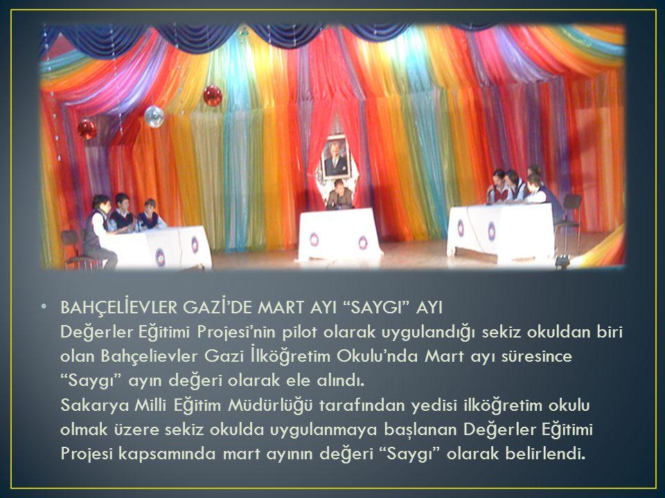 Okulumuzda Çocuk Hakları Semineri Okulumuz belirli gün ve haftalar kutlama ekibinin organize etti ğ i etkinlikler kapsamında ö ğ rencilerimize Avukat Dilara Garlı tarafından ''Çocuk Hakları'' semineri verildi.