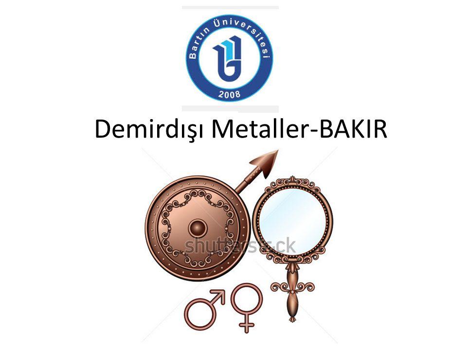 Demirdışı Metaller-BAKIR