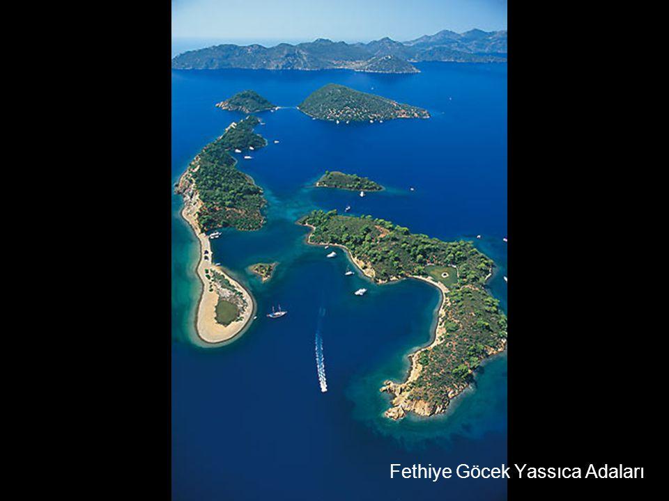 Fethiye Göcek Yassıca Adaları