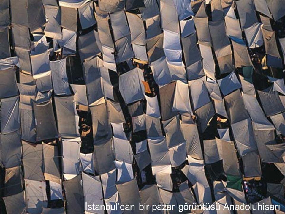 İstanbul'dan bir pazar görüntüsü Anadoluhisarı