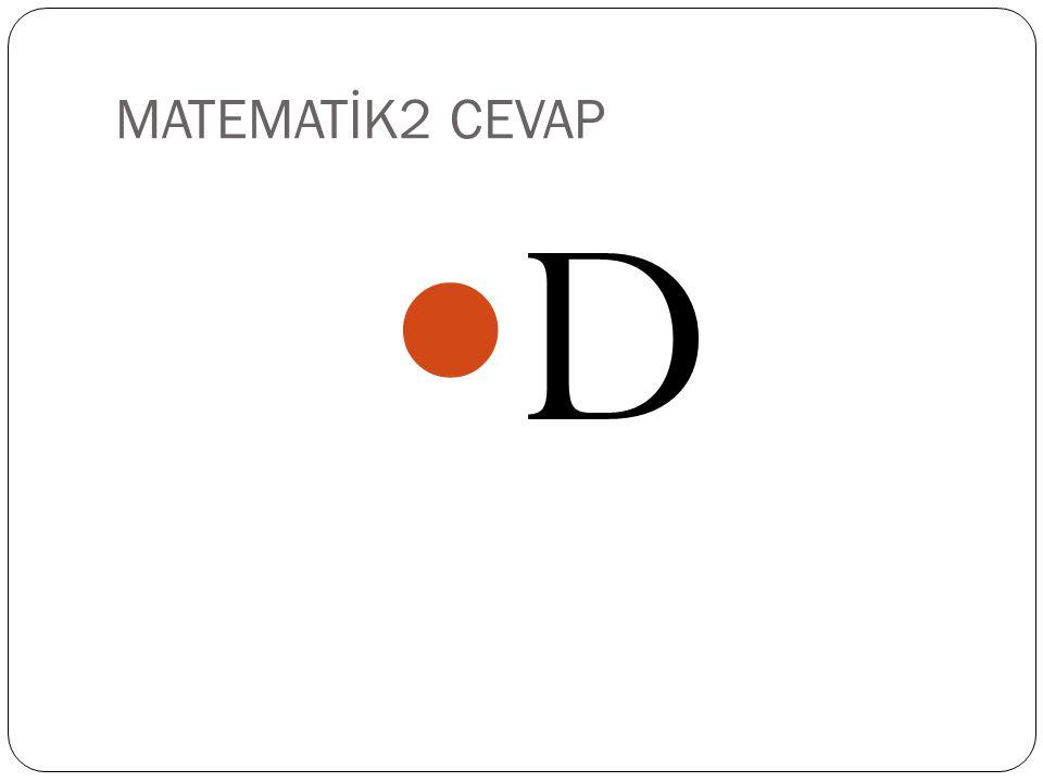 MATEMATİ2 İlk terimi 27 ortak çarpanı 3 olan geometrik dizinin 15.
