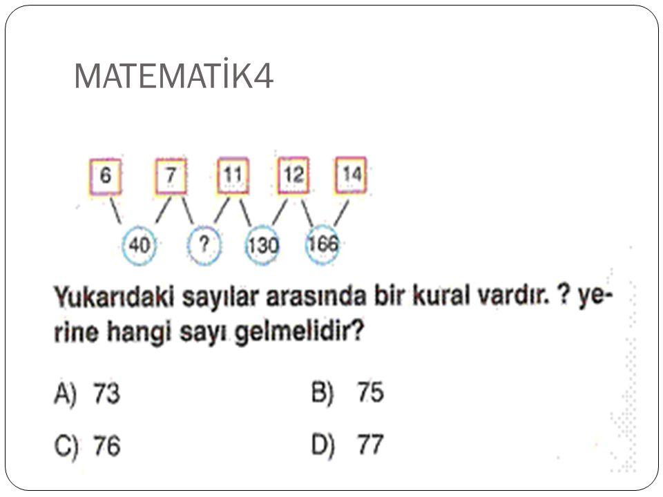 MATEMATİK3 CEVAP C