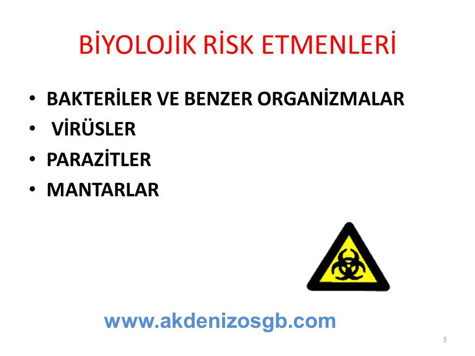 Bakanlığa bildirim 1)İşverenler, aşağıdaki biyolojik etkenlerin ilk kez kullanımında çalışma ve iş kurumu il müdürlüğüne ön bildirimde bulunur: a) Grup 2 biyolojik etkenler.