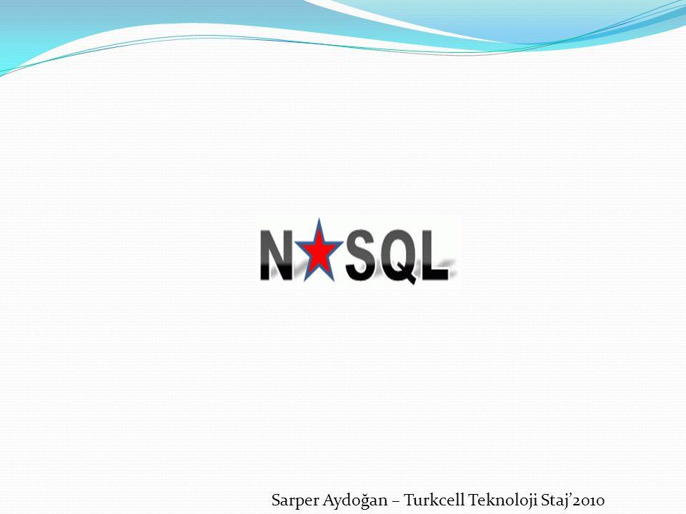 Sarper Aydoğan – Turkcell Teknoloji Staj'2010