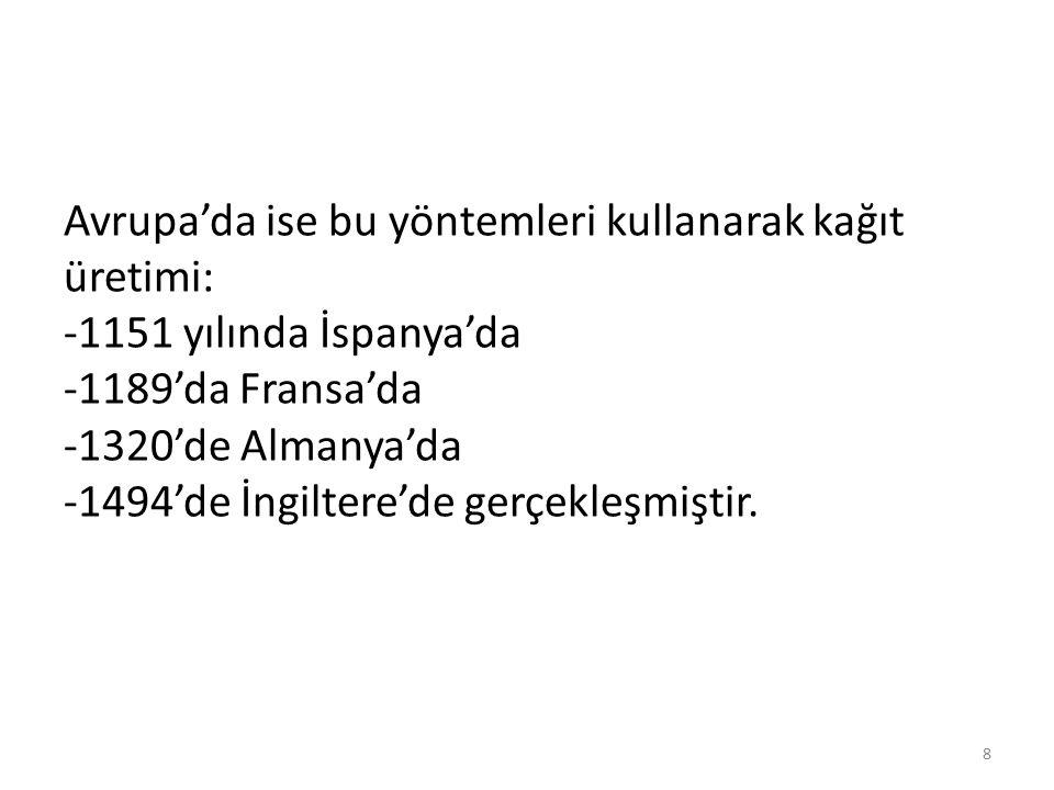 KAĞIDIN GERİ DÖNÜŞÜMÜ 19 kilinckardeşler.com