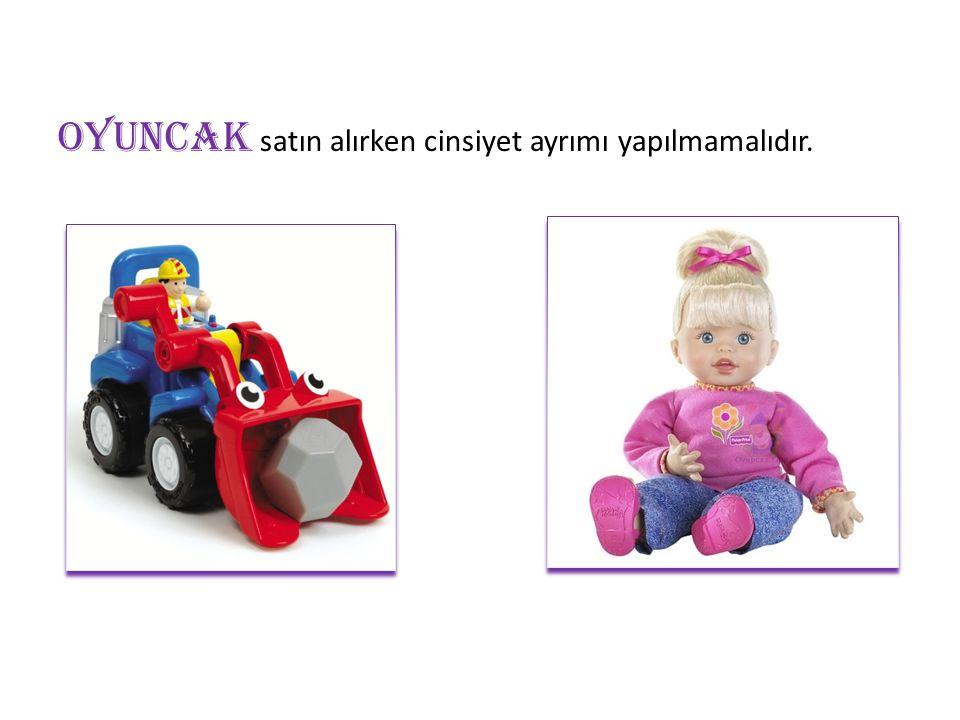 D İ KKAT etmemiz gereken en önemli şeylerden biri de oyuncağın çocuk için güvenli olmasıdır.