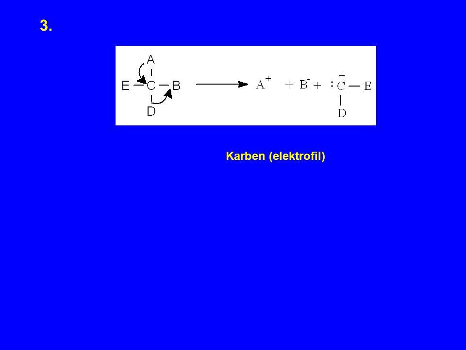3. Karben (elektrofil)