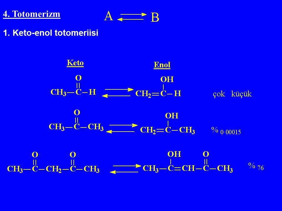 4. Totomerizm 1. Keto-enol totomeriisi