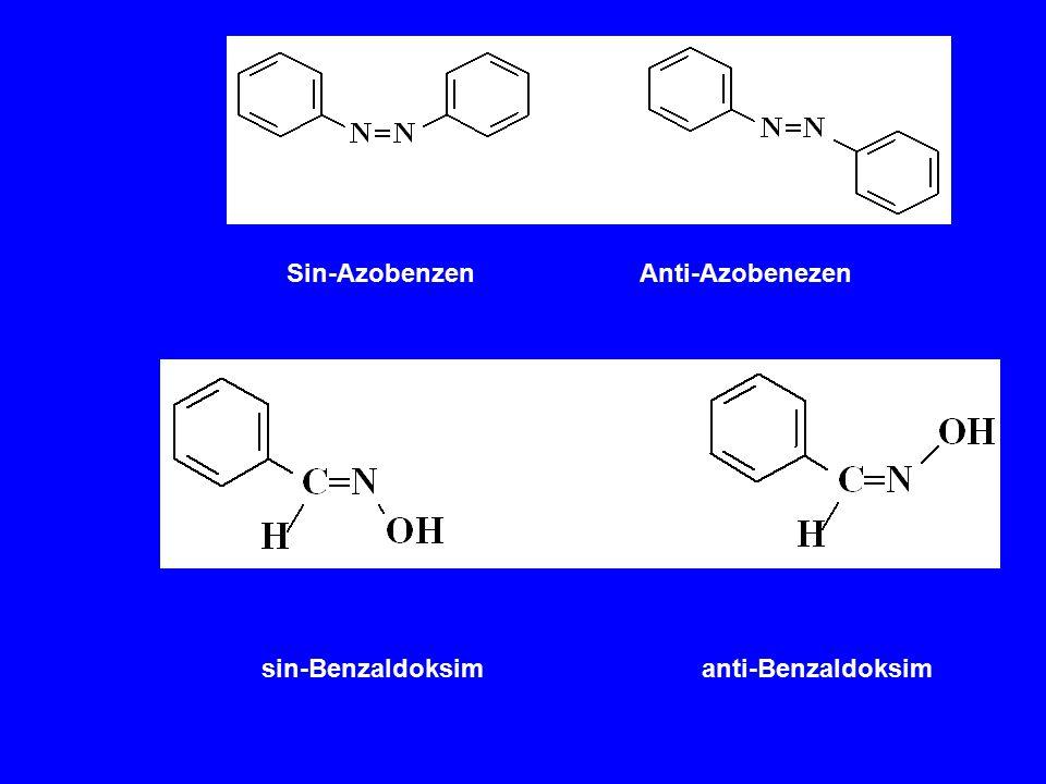 Sin-Azobenzen Anti-Azobenezen sin-Benzaldoksim anti-Benzaldoksim