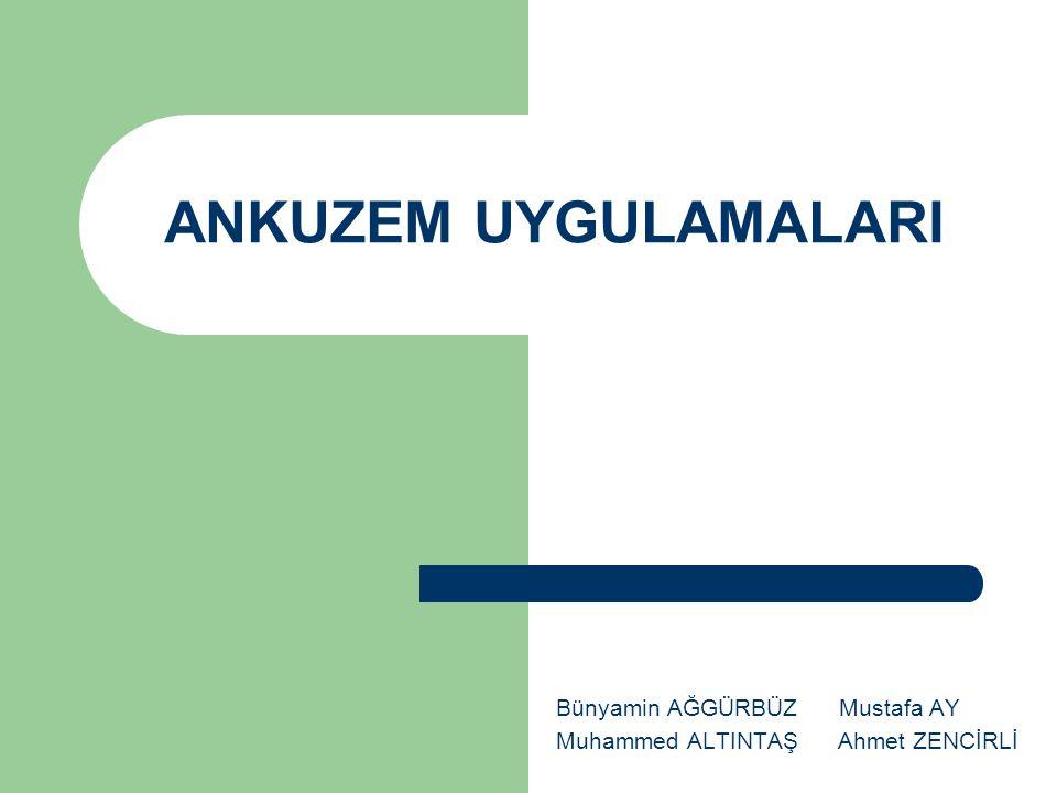 ANKUZEM' in Geçmişi 2001 yılında Ankara Üniversitesi UE yapmaya için karar verdi.