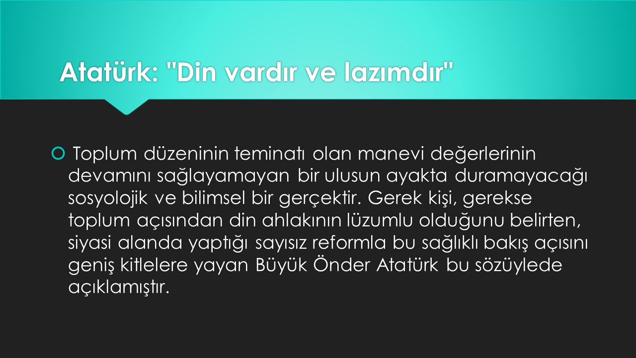 Atatürk: