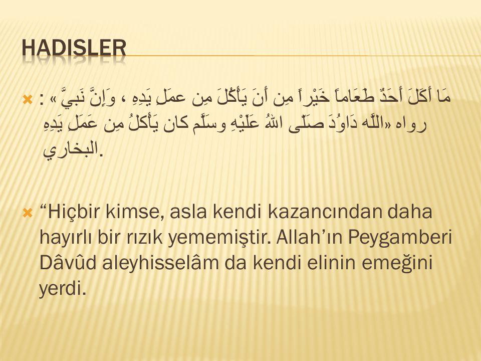 """ """"Allah'ın size rızık olarak verdiklerinden helal, iyi ve temiz olarak yiyin ve kendisine inanmakta olduğunuz Allah'a karşı gelmekten sakının."""" anlam"""