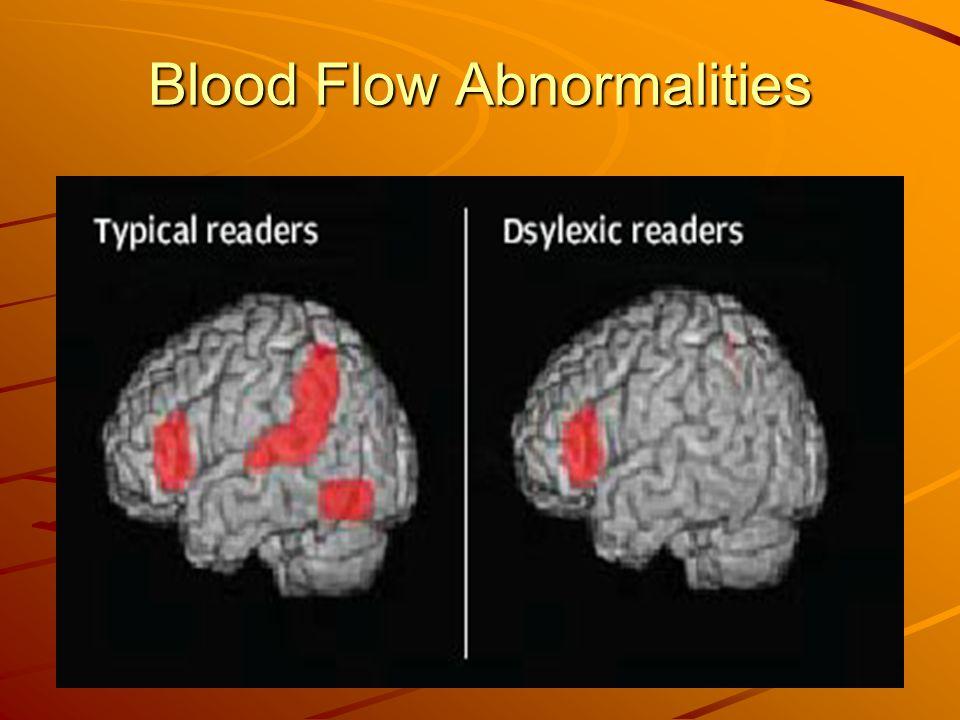 Blood Flow Abnormalities
