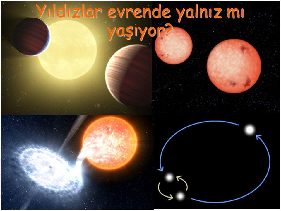 Bir sistemde 100 lerce yıldız varsa.Bir sistemde 1000 lerce yıldız varsa.