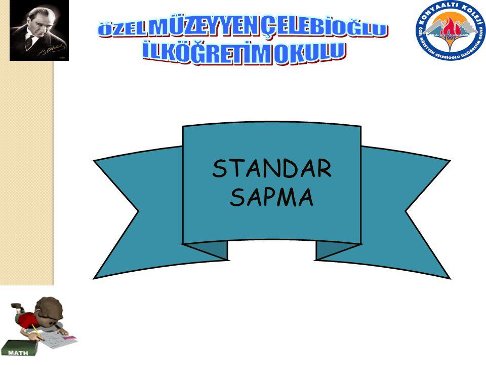 STANDAR SAPMA