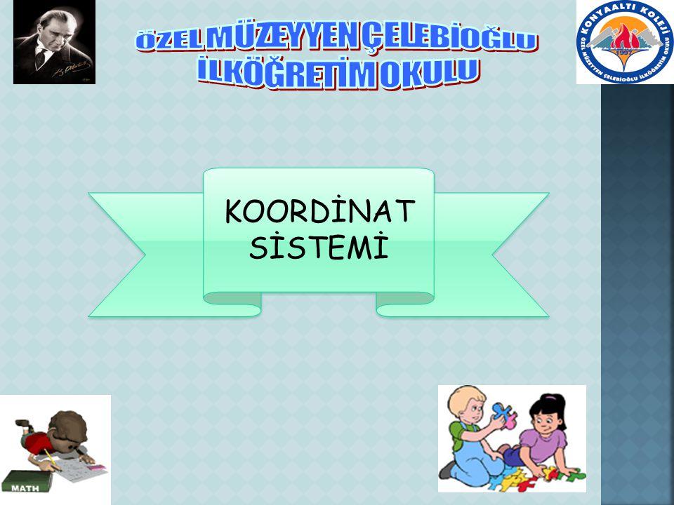 KOORDİNAT SİSTEMİ